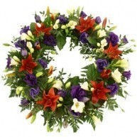 Coloured Wreath